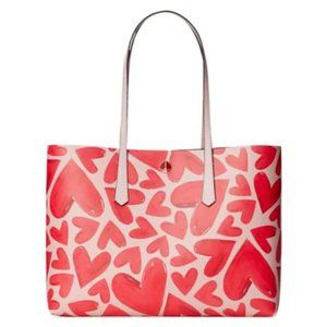 Kate Spade Large Molly Ever Fallen PVC Tote